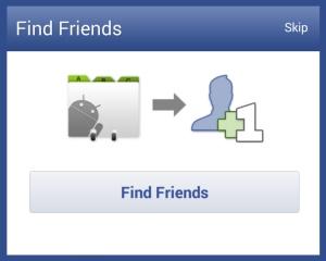 facebook friends blue